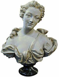 Reinette: Madame de Pompadour, Images of a Mistress Bust of Madame de Pompadour by Davidson