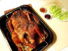 Mijn eerdere experimenten om Peking eend te maken waren Eend in braadzak en Peking Duck for dummies . Zoals ik ze in Peking at, zijn ze...