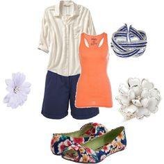 Summer, created by anowens.polyvore.com