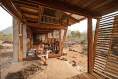Safe Haven Library from http://www.archdaily.com/ in Ban Tha Song Yang, Tak, Thailand