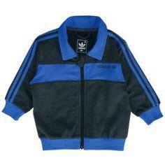 adidas Originals Beckenbauer Tracksuit - Boys' Infant - Casual - Clothing - Dark Shale/Bluebird