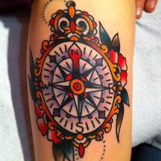 compass tattoo...