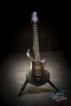 Ernie Ball Music Man Majesty- Arctic Dream- Petrucci | Glory Days Rock Shop