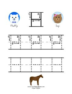 How to write the letter H, with large images to trace for practice, in free printable PDF format. Letter H Worksheets, Free Printable Alphabet Worksheets, Free Printables, Colorful Pictures, Preschool Activities, Coloring Pages, Kindergarten, Homeschool, Letters