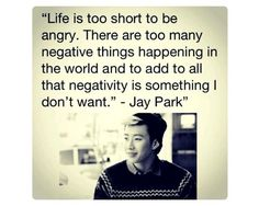 Quoting ≈ Jay Park