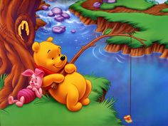 Love me some Pooh and Piglet!