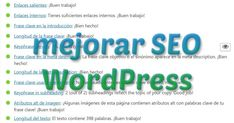 Mejorar SEO WordPress Wordpress, Key Quotes, Goals, Thanks