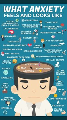 Symptoms of #anxiety