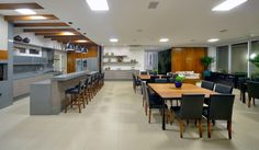 Churrasqueira, gourmeteria, E3 Arquitetura, piso Portobello