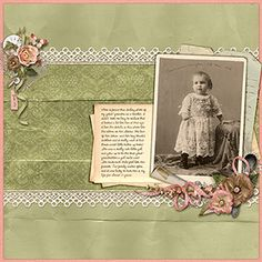 Digital Scrapbooking Layout by April Martell