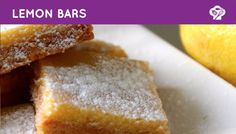 FOODGLOSS - Lemon bars / Citroenrepen