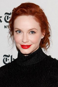 always perfect. // Red hair & red lips