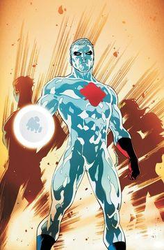 Captain Atom by CAFU (Carlos Alberto Fernandez Urbano)