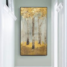 Modern abstract gold art tree painting on canvas wall art pictures for living room home decor acrylic texture blue quadros caudro decoracion Living Room Pictures, Wall Art Pictures, Painting Pictures, Texture Blue, Tree Sculpture, Gold Art, Texture Painting, Tree Artwork, Wall Art Decor