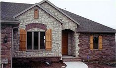 About Brick And Stone Exteriors On Pinterest Home Design House