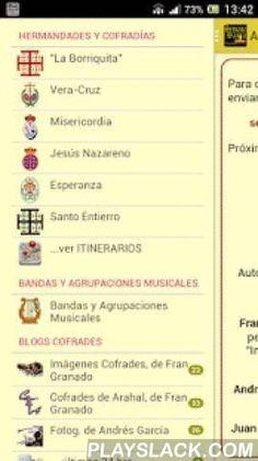 """Semana Santa De Arahal  Android App - playslack.com ,  Ya tienes disponible una guía de la Semana Santa de Arahal 2016 en tu móvil.Un pequeño resumen de las hermandades y cofradías de la Semana Santa de Arahal, Sevilla, su historia, imágenes, horario aproximado de salida y entrada, TODOS LOS ITINERARIOS!!!, etc. y AHORA TAMBIÉN accede a tres de los blogs más seguidos de nuestra Semana Santa: """"Imágenes Cofrades"""" y """"Cofrades de Arahal"""", de Fran Granado Humanes.Incluye:- """"La Borriquita""""…"""
