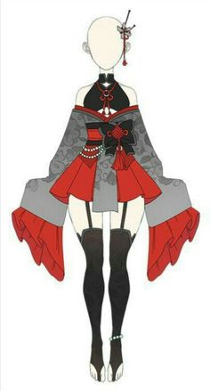 Cosplay Outfits, Anime Outfits, Girl Outfits, Cute Outfits, Clothing Sketches, Dress Sketches, Drawing Anime Clothes, Dress Drawing, Hero Costumes