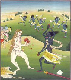 THE DANCE OF SHIVA AND KALI    I'VE ALWAYS LOVED HOW HE LOOKS SO FEMININE AND SHE MASCULINE