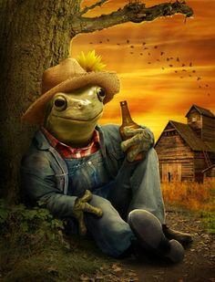 Farmer Frog - Worth1000 Contests