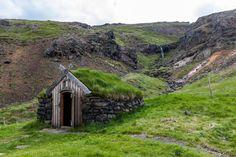 Maison de pierre en Islande