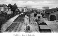 Les gares de la Petite Ceinture dans le 19e arrondissement. Le Chemin De Fer  ... 5c0f1555699