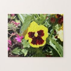 Flower Photo Puzzle. Jigsaw Puzzle - flowers floral flower design unique style