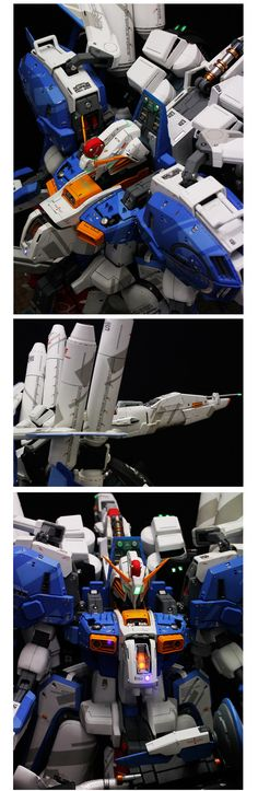 I was really excited when I saw these photos of the MASSIVE Ex-S Gundam. Did I ever mentioned that Ex-S Gundam is one of my favorite Gundams? This is made by Team Hobbys from Korea earlier thi. Gunpla Custom, Custom Gundam, Battle Robots, Gundam Toys, Armored Core, Japanese Robot, Mecha Anime, Mechanical Design, Comic Games