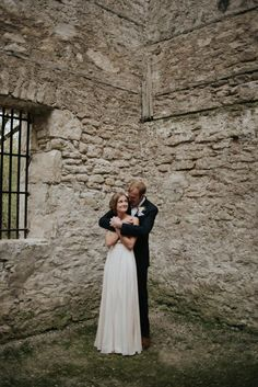 A gorgeous couple capture in the Goldie Mill | Image by Daring Wanderer