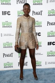 Lupita Nyong'o at the Spirit Awards