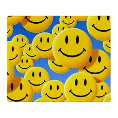 Smiley face symbols Throw Blanket by Science-Photo-Library - CafePress Smileys, Framed Artwork, Framed Prints, Canvas Prints, Acid House, Science Photos, Photo Library, A4 Poster, Gifts In A Mug