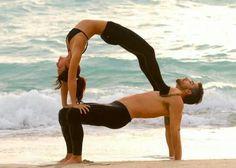 Acro yoga lovely!