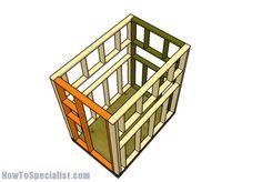 4x6 Shooting House Roof Plans | Pinterest | Shooting house, Deer ...