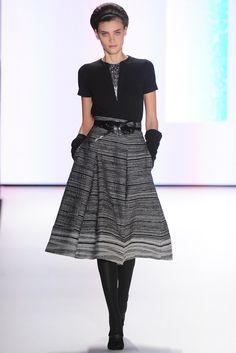 Carolina Herrera Fall 2012 Ready-to-Wear Fashion Show - Alison Nix