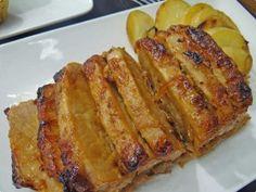 Receita de Lombo com Batatas - Carne de Porco Assada