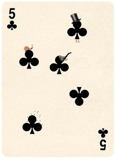 malnote: (Playing Cards Illustrations by Jonathan Burtonから)