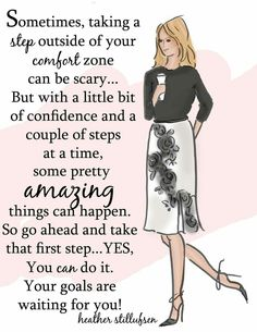 Take a Step - Heather Stillufsen Woman Quotes, Me Quotes, Motivational Quotes, Inspirational Quotes, Lady Quotes, Qoutes, Quotations, Typed Quotes, Quotes Images