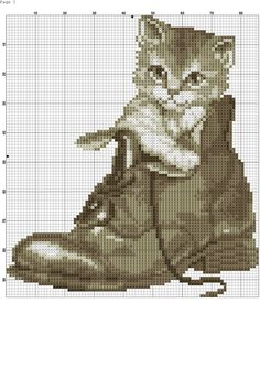 VK is the largest European social network with more than 100 million active users. Cross Stitch Owl, Cat Cross Stitches, Cross Stitch Animals, Hand Embroidery Stitches, Cross Stitch Charts, Cross Stitching, Cross Stitch Embroidery, Cross Stitch Patterns, Loom Patterns