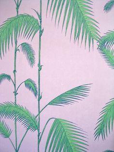 Palm wallpaper by cole & Son, J.R.