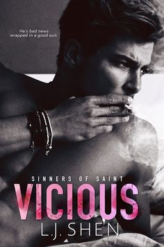 Vicious by LJ Shen  Cover Reveal