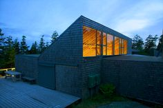 Located on Deer Isle, the Haystack Mountain School of Crafts is an international craft school offers six workshop studios in a variety of craft media. Arch