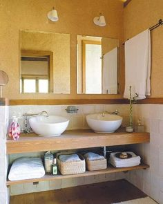 M s de 1000 ideas sobre ba o de doble lavabo en pinterest for Lavamanos dobles modernos