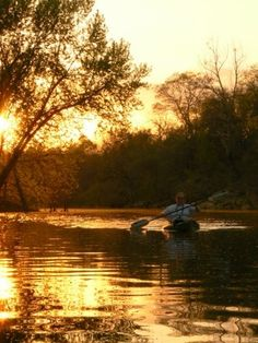 Take a canoe trip down the Kiamichi River in Sawyer, Oklahoma. It flows through the Kiamichi Mountains for beautiful scenery and into Lake Hugo before emptying into the Red River.