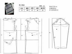[转载]【明曦手作】--男士V领衫(附裁剪图)