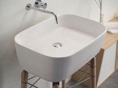 Móvel lavatório de apoio de madeira design RAY - Ex.t