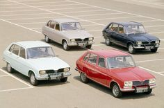 Renault 16 ( My mom has one when I was in high school! It became my 1st car!)