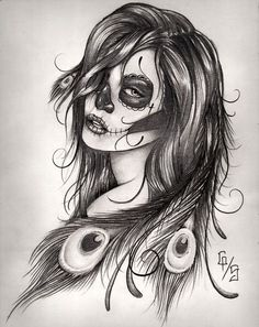 sugar skull phoenix - Google Search
