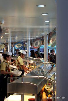 Review: Cabanas on the Disney Dream Cruise Ship | the disney food blog