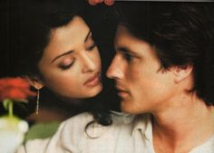 Aishwarya Rai and Martin Henderson as Lalita and Darcy in Bride and Prejudice.
