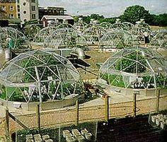 Solardomes in Lancaster