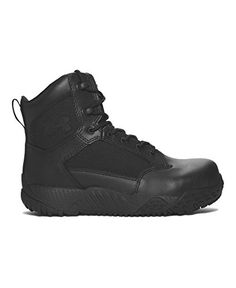 Under Armour Womens UA Stellar Protect Tactical Boots 6 Black -- You can get more details by clicking on the image.